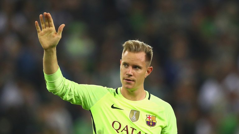 Barcelona's Marc Andre ter Stegen has kept 12 clean sheets this season