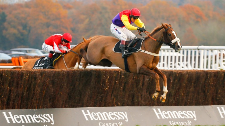 Native River: Hennessy winner faces two rivals at Newbury on Saturday