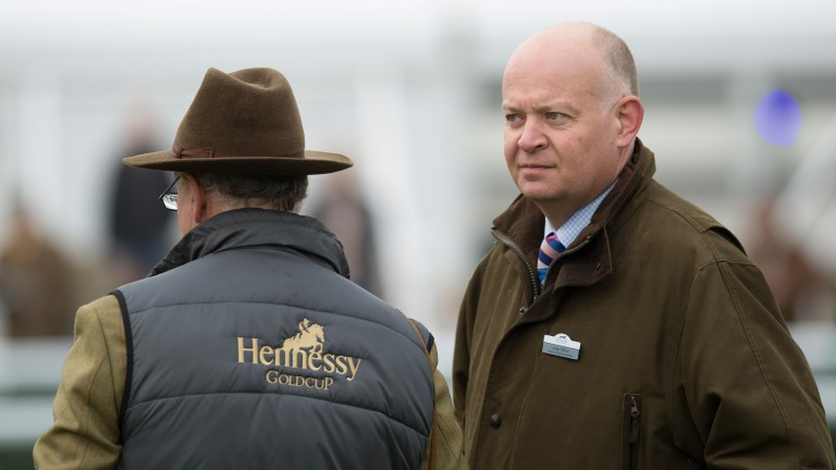 Andy Clifton: stressed that bomb alert had no effect on preparations for Betfair Hurdle meeting