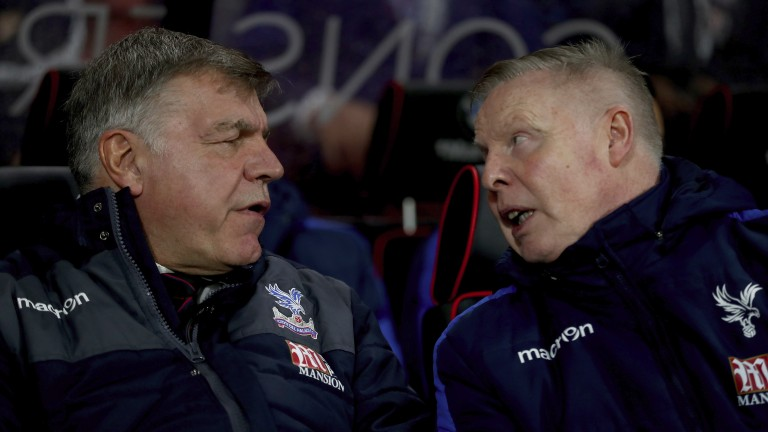 Sam Allardyce (left) is expected to leave Crystal Palace