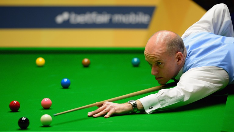 Peter Ebdon: world champion snooker player is also taking a course in healing