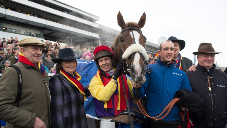 Native River : puts his Gold Cup claims to the test at Newbury