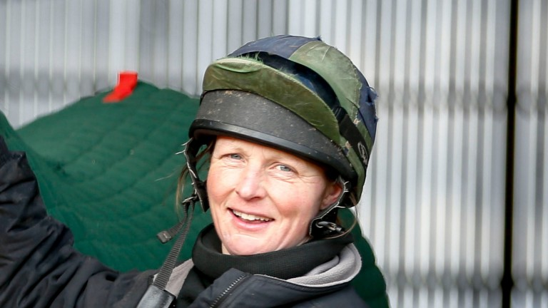 Gillian Boanas: saddles her first runner at Catterick on Monday