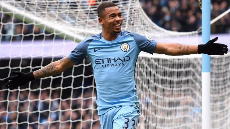 Gabriel Jesus has settled well at Manchester City