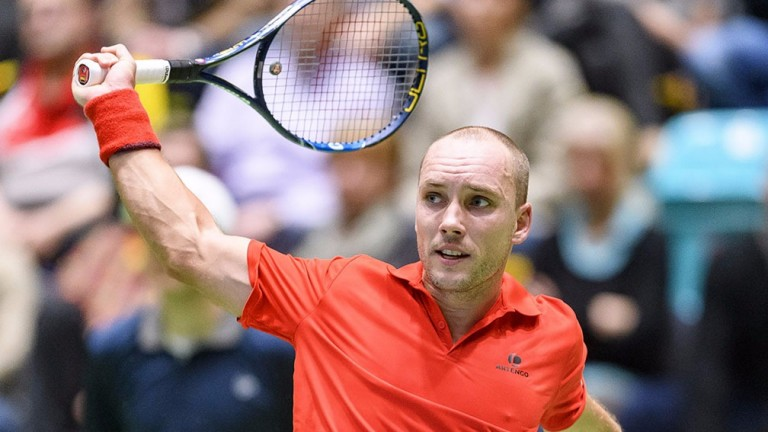 Experienced Belgian Steve Darcis has been in terrific form