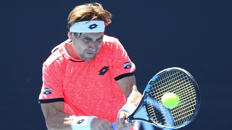 Spanish ace David Ferrer