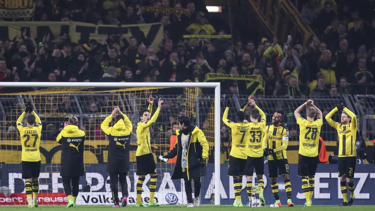 Dortmund could have plenty to celebrate