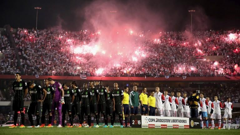 Fans at last year's Copa Libertadores semi-final