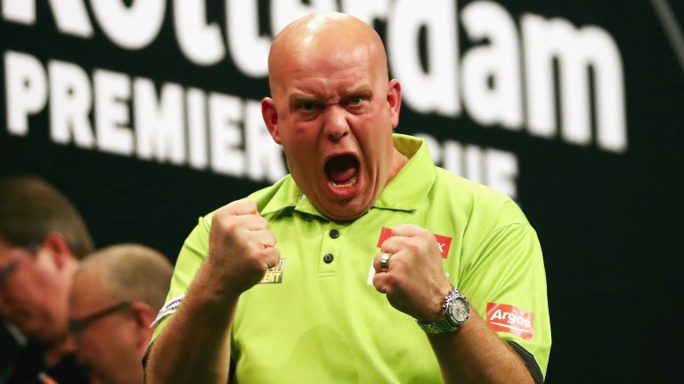 Michael van Gerwen is going foir back-to-back title defences