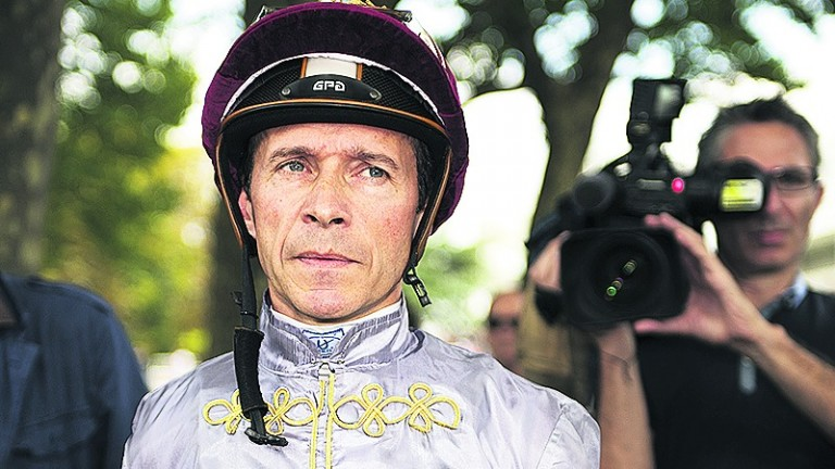 Thierry Jarnet: won last year's Silver Saddle