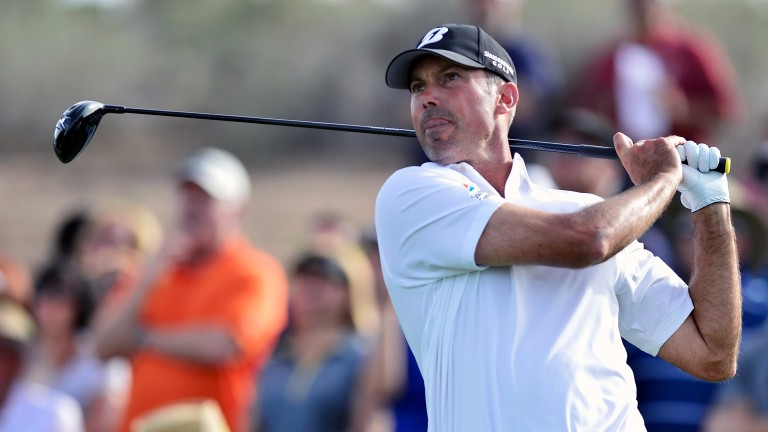 Matt Kuchar at the Phoenix Open