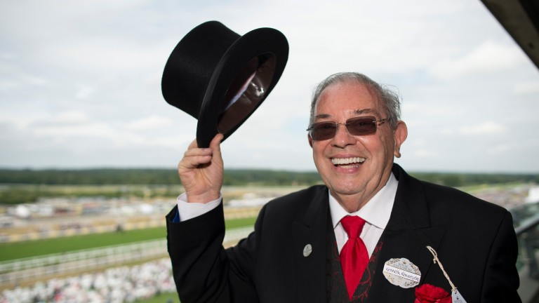 Ken Ramsey: seeking a third victory in the Barbados Gold Cup