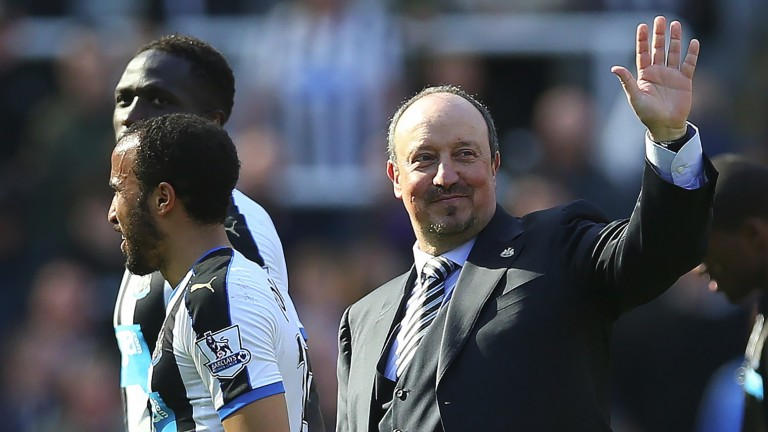 Newcastle  manager Rafa Benitez
