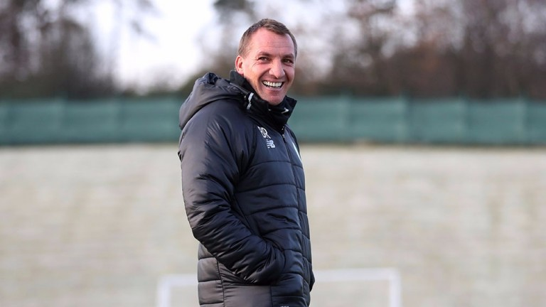 Brendan Rodgers is all smiles at Celtic's current form