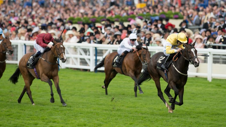 Quiet Reflection: the Ontoawinner-owned filly powers away to Group 1 glory at Royal Ascot