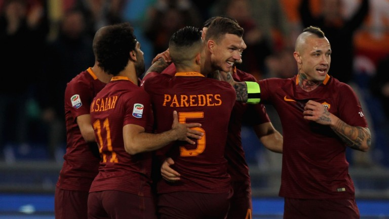 Roma face a crunch Serie A clash at Inter