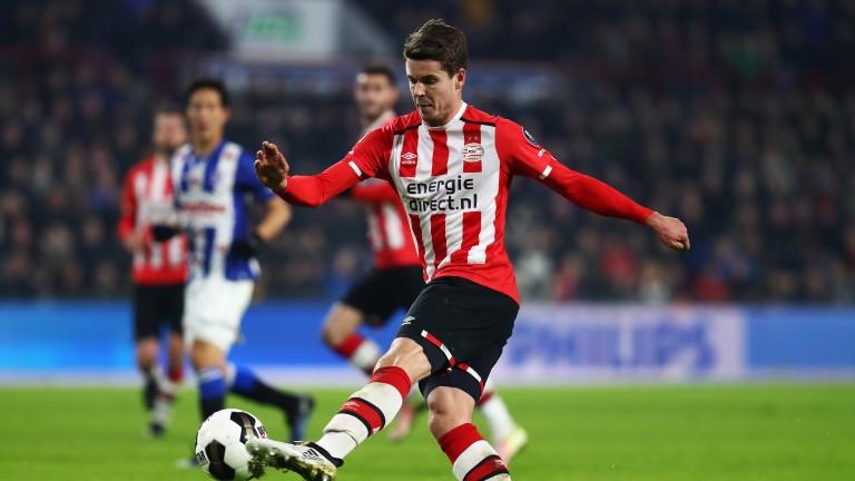 PSV midfielder Marco van Ginkel