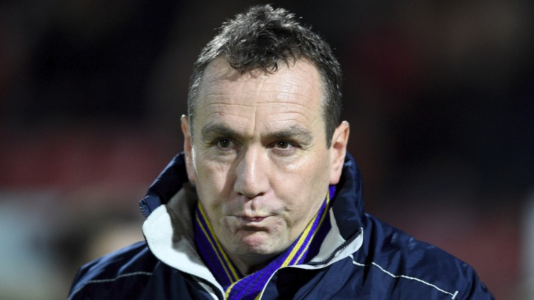 Tranmere boss Micky Mellon is seeking promotion