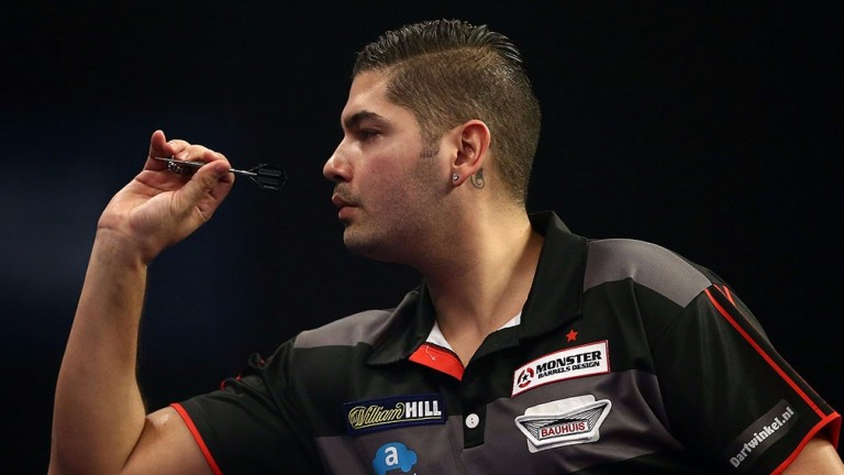 Jelle Klaasen's first trio of games were against the world's top three
