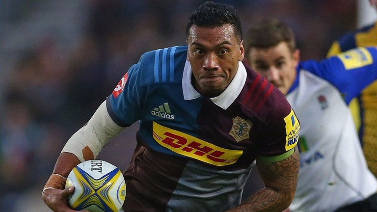 Ace winger Alofa Alofa is set to return for Quins