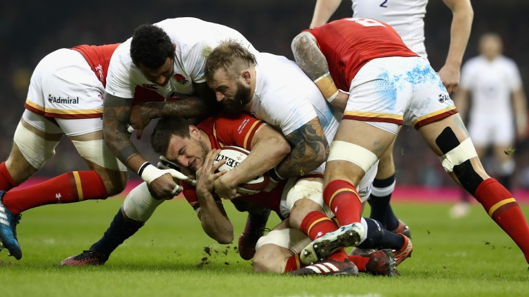 Wales were outstanding at the breakdown against England