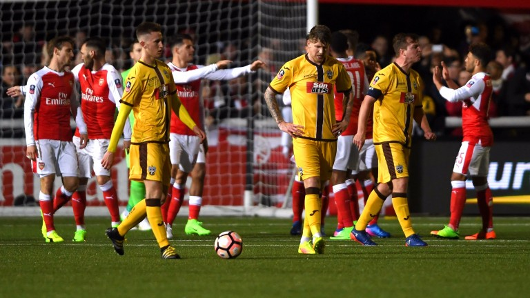 Sutton must quickly get over their defeat to Arsenal
