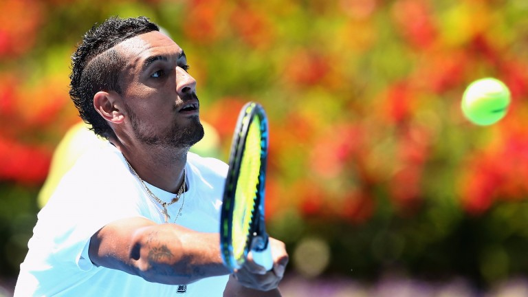 Nick Kyrgios's Marseille title defence is going perfectly so far