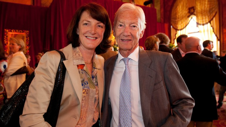 Eimear Mulhern: Goffs chairman, pictured with Lester Piggott, celebrates her birthday today