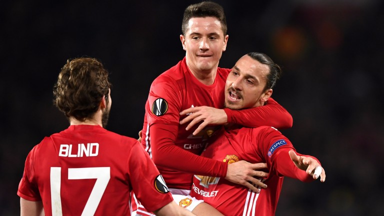 Zlatan Ibrahimovic leads an experienced Manchester United outfit