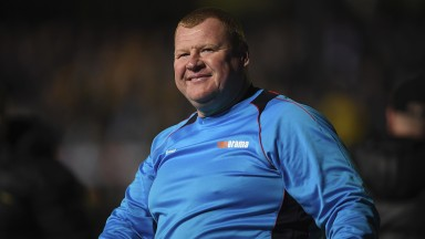 Wayne Shaw bit off more than he could chew