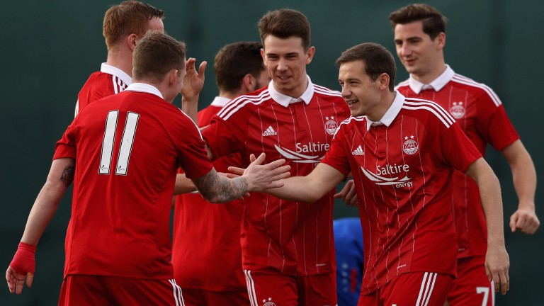Aberdeen may have little to celebrate about against Partick Thistle