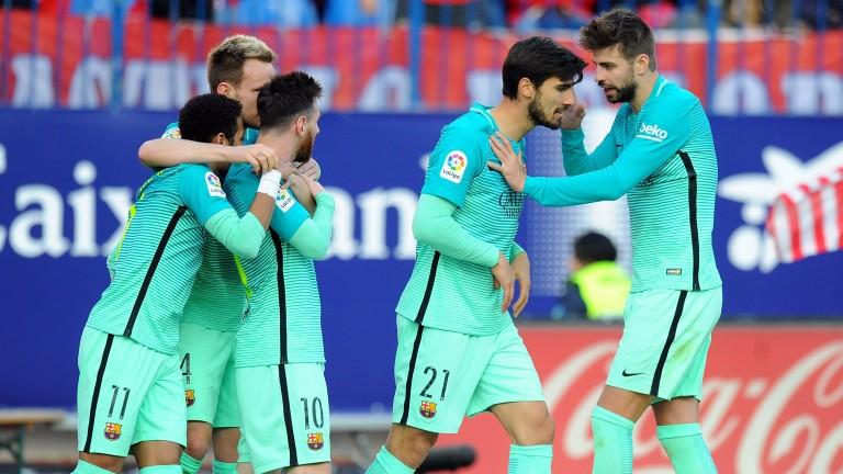 Barcelona are on a high after defeating Atletico Madrid