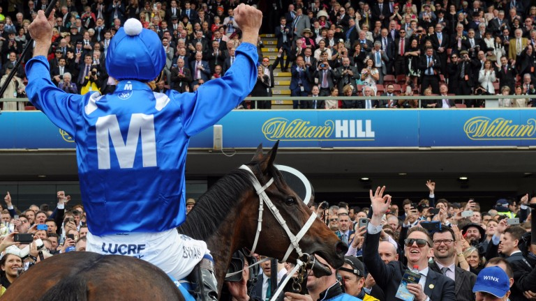 Winx: the Australian champion would be a huge draw at the royal meeting