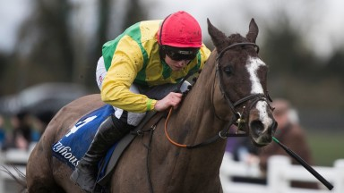 Aupcharlie: capable of improving on last year's Foxhunter sixth after Fairyhouse win