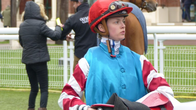Lucie Ogier was in action at Deauville on the first day of the female allowance on March 1