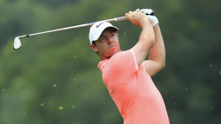Rory McIlroy can win his threeball for the second day running