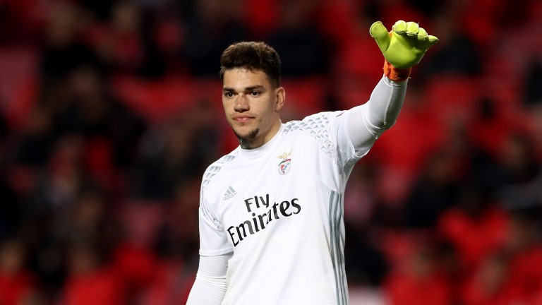 Benfica goalkeeper Ederson