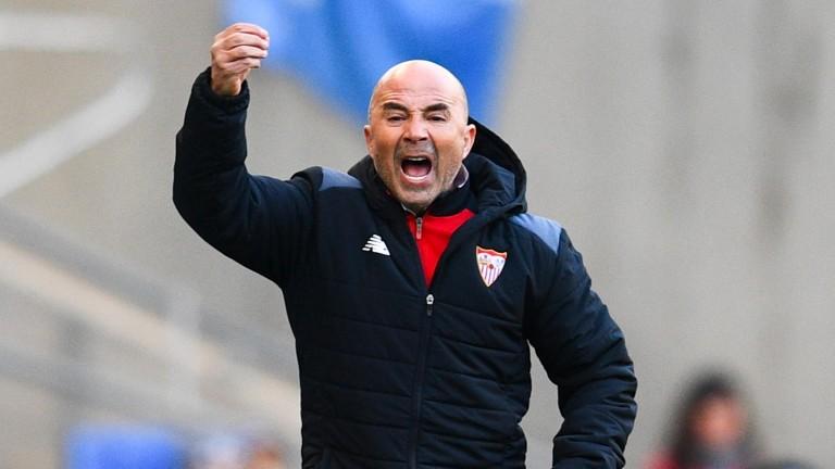 Seville gaffer Jorge Sampaoli