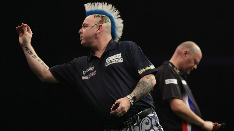 Peter Wright has made a bright start to 2017