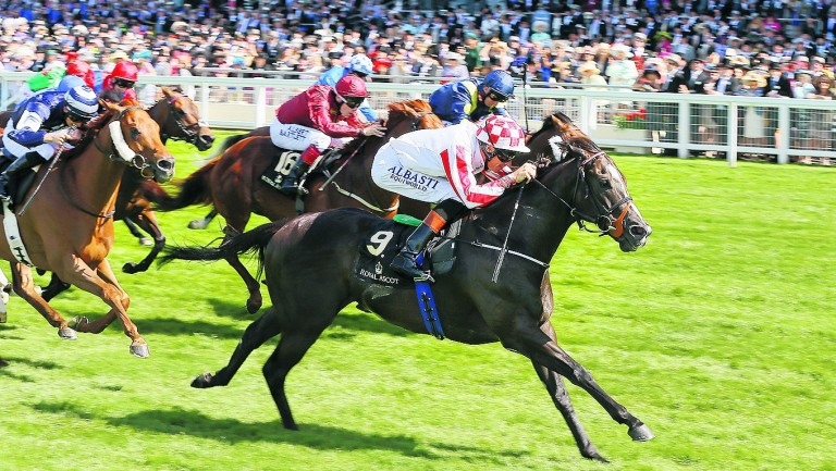 Sole Power lands his second King's Stand Stakes in the colours of Sabina Power