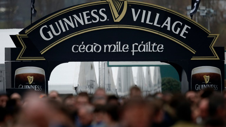 The Guinness Village: a guaranteed source of festival atmosphere