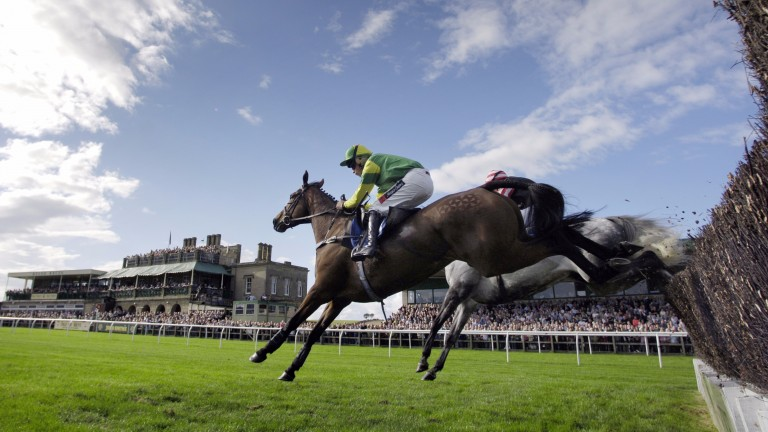 There is Grade 2 action at Kelso this afternoon