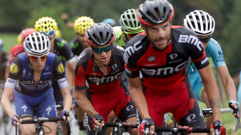 Richie Porte of BMC Racing in action during the Tour de France