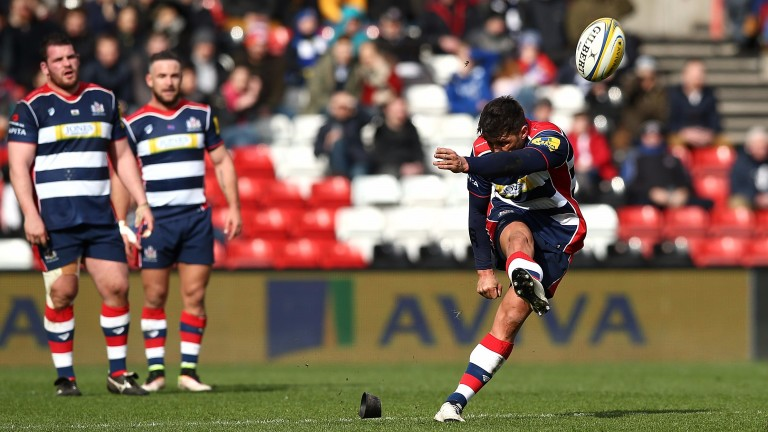 Gavin Henson kicked all of Bristol's points against Bath