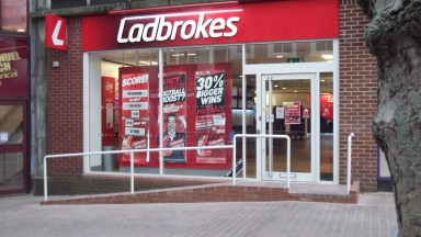 Ladbrokes shop front