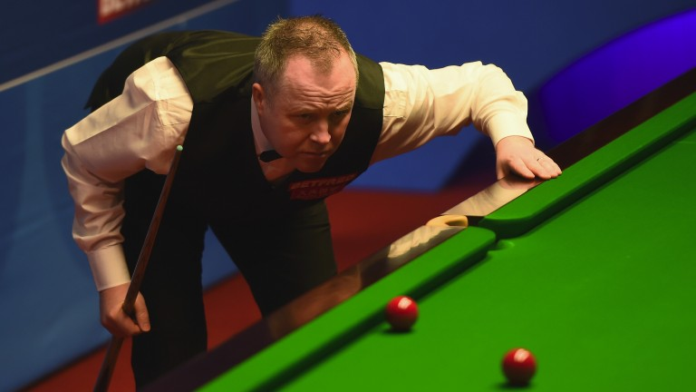 John Higgins looks to have a great chance in Llandudno