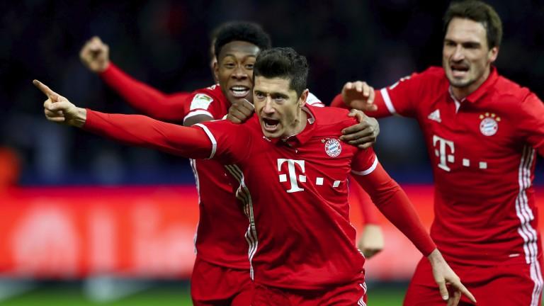 Robert Lewandowski will lead Bayern's charge