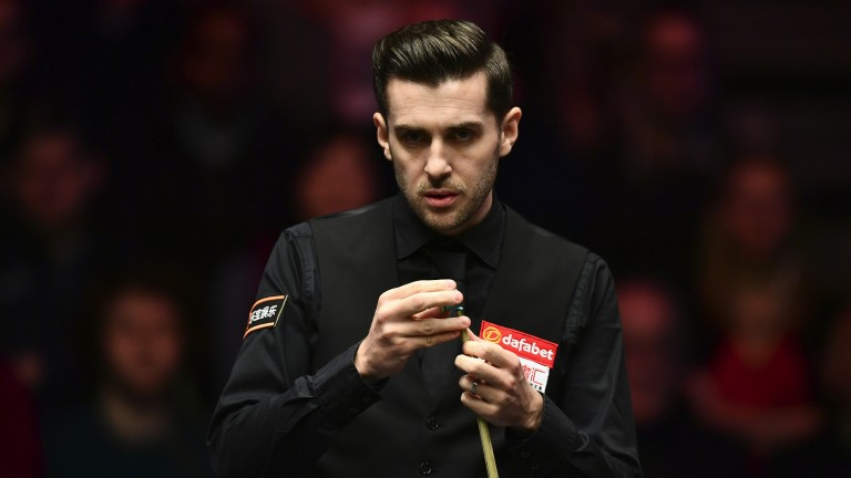 Mark Selby should not be troubled unduly in his first-round match