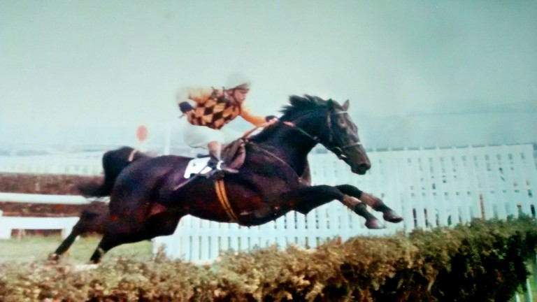 Clive Bailey in action. The hurdles specialist spent most of his career with Toby Balding