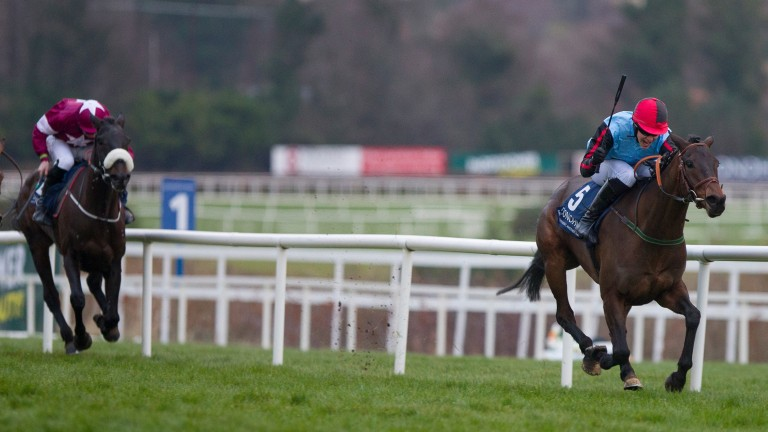 Quick Grabim: was an impressive winner of a Grade 3 at Tipperary